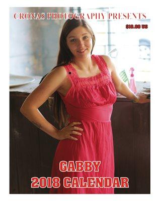 Gabby 12 Month Calendar 2018