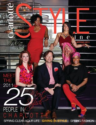 The Most Stylish Issue 2011 - Celebrating STYLE in Charlotte
