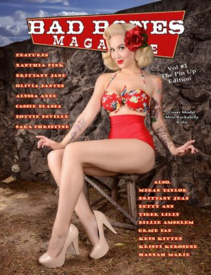 Bad Bones Magazine #1 Pin up Edition