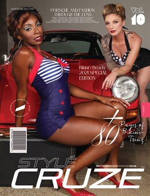 SEPTEMBER 2021 Issue (Vol: 10) | STYLÉCRUZE - Swim Wear