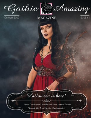 Gothic And Amazing Magazine #4