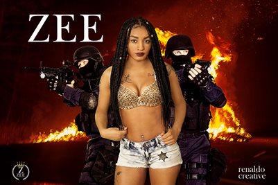 Zee Swain Fire Hot Poster 18x12