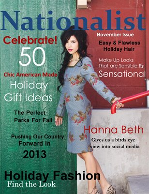 Nationalist Magazine November 2012 Issue