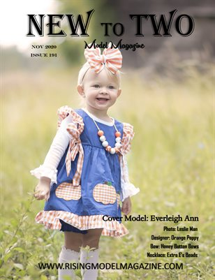 New To Two Model Magazine Issue #191
