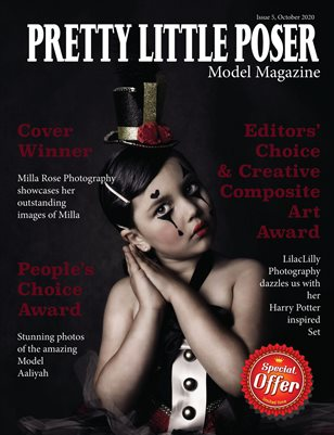 Pretty Little Poser Model Magazine - October 2020 - Issue 5
