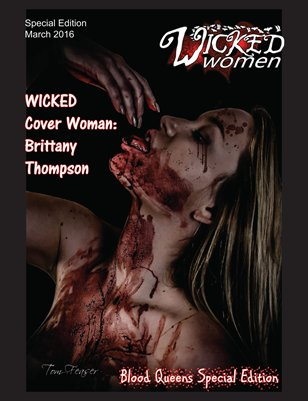 WICKED Women Magazine-Blood Queens Special Edition: March 2016