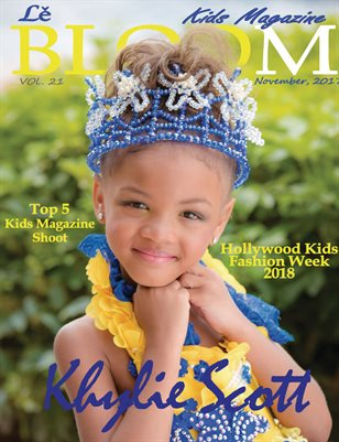 Le Bloom Kids Magazine Khylie Scott