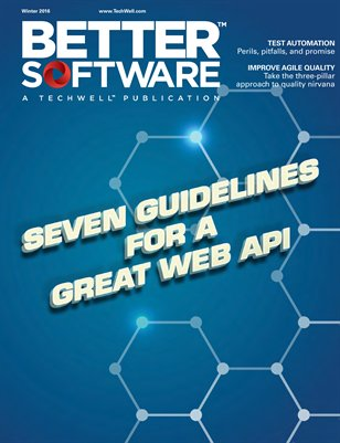 Better Software Magazine Winter 2016