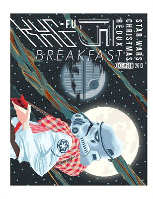 Kung Fu Breakfast Issue #15: Star Wars Christmas Redux