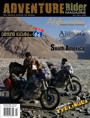 Adventure Rider Magazine Nov/Dec 2009