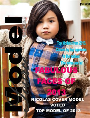 Model Source Magazine Top Models and Fabulous Faces from 2013