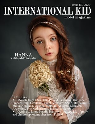 International Kid Model Magazine Issue #82