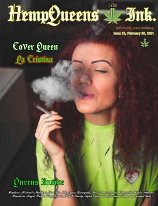 HempQueens Ink. Magazine ~ Issue 23 ~ La Cristina