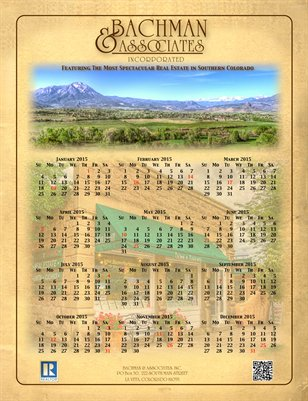 Bachman 2015 Calendar