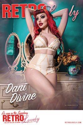Retro Lovely No.151 – Dani Divine Cover Poster