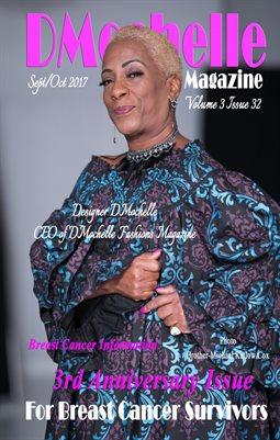 Mini DMochelle Fashions Magazine September/October Issue 2017