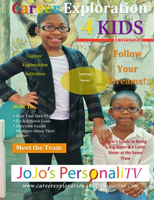 Career Exploration 4 Kids Magazine
