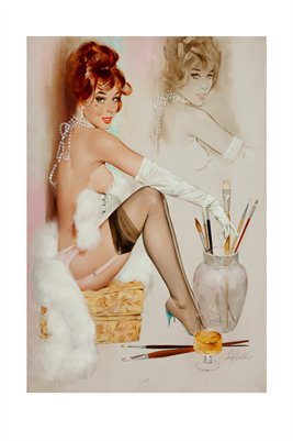 Pin-Up in Painting