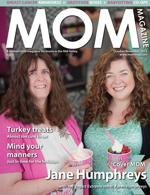 MOM Magazine, Oct/Nov 2013 Pink Issue in the Mid-Valley