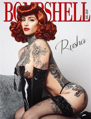BOMBSHELL Magazine August 2020 - Rusha Cover