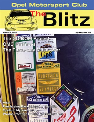 The Blitz, July-December 2018