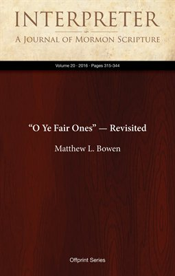 """O Ye Fair Ones"" — Revisited"