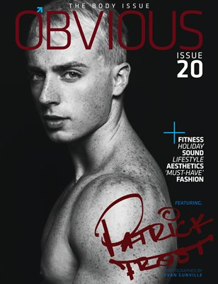 THE BODY ISSUE: PATRICK FROST COVER