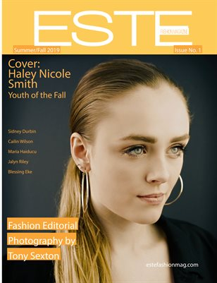 Este Fashion Magazine Issue 1 Haley Nicole Smith Cover
