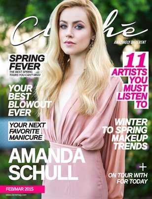 Cliché Magazine - Feb/Mar 2015 (Amanda Schull Cover)