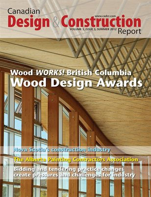 Canadian Design and Construction Report: Summer 2012