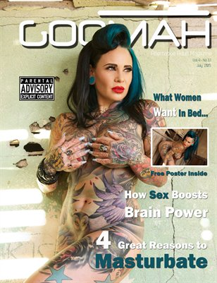 Goomah Magazine - July 2015 - Cover 2