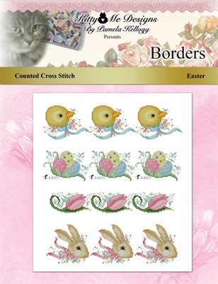 Easter Borders Cross Stitch Pattern