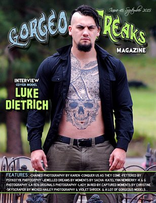 Issue 45 Cover Model: Luke Dietrich