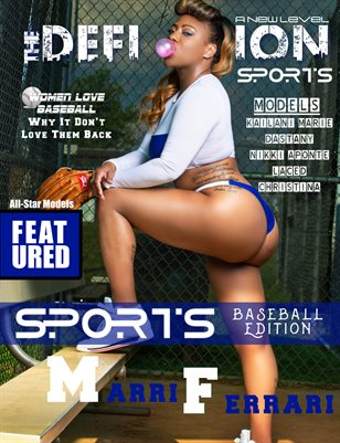 The Definition: Sport Baseball Edition Marri Ferrari cover1