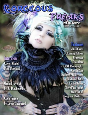 ISSUE 7 FEMALE COVER: Miss Mischief!