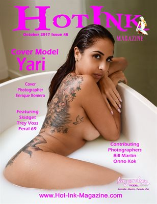 HOT INK MAGAZINE - Cover Model Yari - October 2017