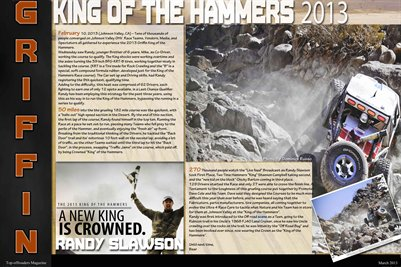Randy Slawson King of The Hammers 2013 P.3-4