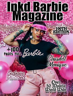 Inkd Barbie Magazine 100th Edition - Shardell Monique