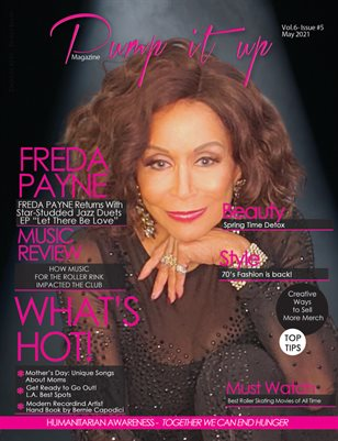Pump it up magazine - Freda Payne - Vol.6 - Issue #5