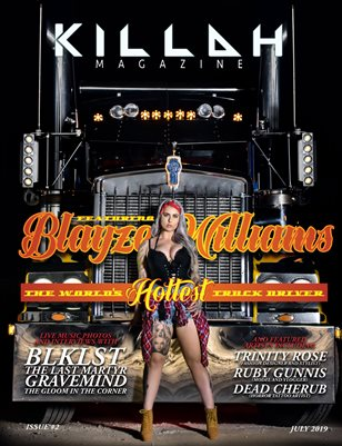 Killah Magazine - ISSUE TWO - JULY 2019