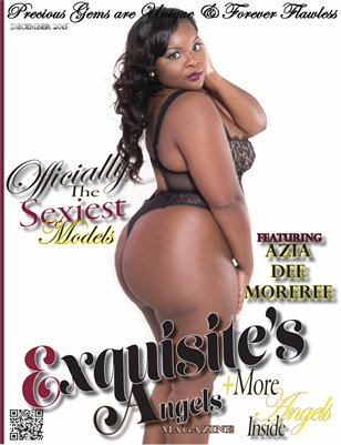 Exquisite's Angels Magazine December 2015 Issue - Azia Dee Moreree