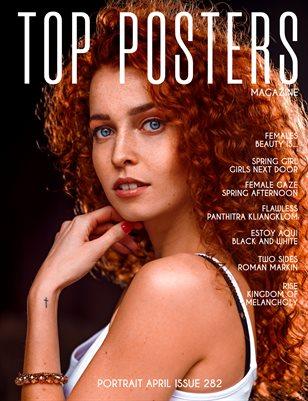 TOP POSTERS MAGAZINE - PORTRAIT APRIL (VOL 282)