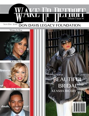 Wake Up Detroit Magazine 2016 Don Davis Legacy Vol. 2 Issue 6