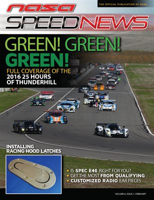 NASA Speed News February Issue 2017