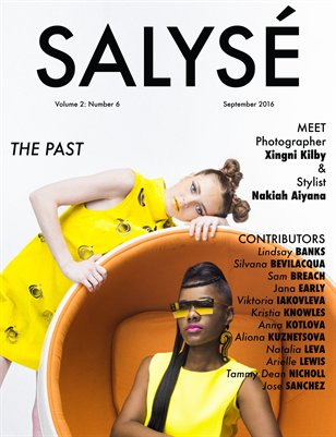 SALYSÉ Magazine | Vol 2:No 6 | September 2016 |