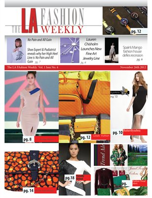 The LA Fashion Weekly Vol. 1 No.4
