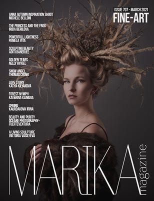 MARIKA MAGAZINE FINE-ART (ISSUE 707 - MARCH)