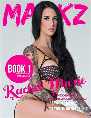Markz Magazine Presents Book 1 (Rachel Marie)