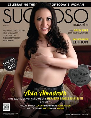 Succoso Magazine Triple Issue #12 ft Cover Model Asia Abendroth