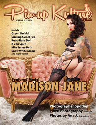 Pin-up Kulture Magazine Volume 1, Issue 4